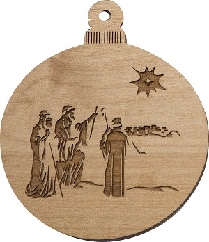 Christmas  Ornament - 3 Wise Men