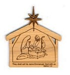 Christmas  Ornament - Nativity