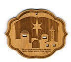 Christmas  Ornament - Star of Bethlehem