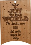 Christmas  Ornament -Banner/Joy to the World