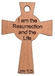 Celtic Cross -I Am the Resurrection & the Life