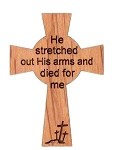 He Stretched Out His Arms and Died For Me