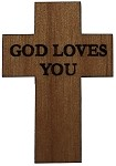 Traditional Cross - God Loves You