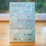 As For God, His Way Is Perfect