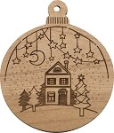 Christmas  Ornament -  Home
