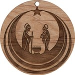 Christmas  Ornament - Mary, Joseph, Jesus