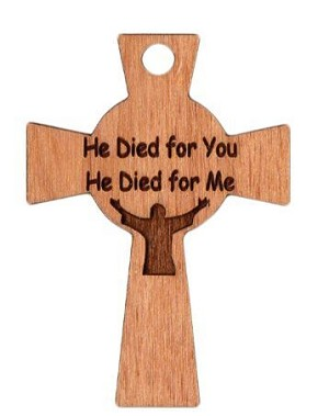 Celtic Cross - He Died for You - He Died for Me