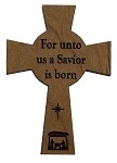 Celtic  Cross - For Unto Us A Savior is Born